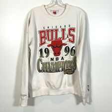 Chicago Bulls 1996 NBA Champions Finals Sweatshirt Michael Jordan The Last Dance