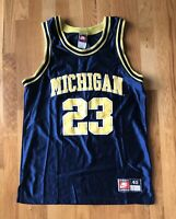 Vintage Authentic  MICHIGAN WOLVERINES #23 Sewn Nike Jersey Size 40 Fab 5
