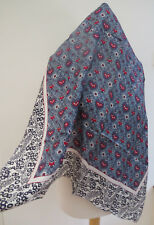NEW!!Laura Ashley Blueprint Silk Square Scarf  - VERY PRETTY!! second