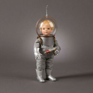 R. John Wright Space Man USA Handmade Collectible Doll