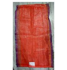 """5 Qty - 23"""" x 40"""" Onion Sack/Mesh Bag, Art Crafts Bag Feed Bag Beach Toy Bag"""