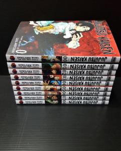 Jujutsu Kaisen Gege Akutami Manga Volume 0-10 English Comic New (FULL SET)