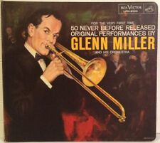 GLENN MILLER FOR THE VERY FIRST TIME (3) LP vinyl set Bound w/booklet 1959 JAZZ