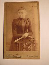 Duisburg - 1888 - Frau Ernst Blum aus Duisburg Neudorf ...str. 114 / CDV