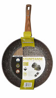 Poêle à Frire En Granit  Aluminium Revêtement Antiadhésive 28 cm Induction Neuf
