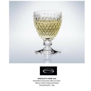 Villeroy & Boch - Boston Clear - 4 Wine Glass White - 10% - Dealer