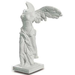 Statue Figur Nike von Samothrake weiß 10cm