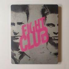 Fight Club (1999) Blu ray Steelbook Best Buy Exclusive Steelbook Mint Condition