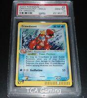 PSA 10 GEM MINT Crawdaunt 3/97 Ex Dragon HOLO RARE Pokemon Card