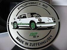 PORSCHE OFFICIAL FACTORY 911 CARRERA RS 2.7 1973 GRILL BADGE BROCHURE 2015