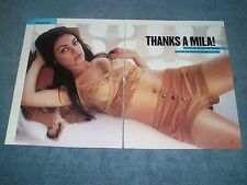 2002 Interview Article with Mila Kunis Magazine Clippings That 70's Show