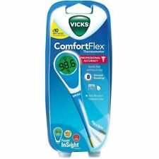 NEW Vicks ComfortFlex Thermometer (V966US) with Fever InSight - SHIPS SAME DAY!