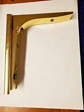 gold shelf holder