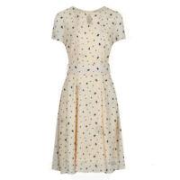 Lindy Bop 'Bretta' BNWT Vintage Shiffon Tea Dress - Plus Size - RARE! Honey Bee