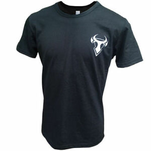 Bull-it Motorbike Motorcycle Casual Shirt Top T-Shirt - Black - XL