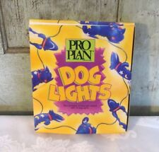 Purina Pro Plan decorative Hanging Blue Dog Lights in box 12' w 10 dogs