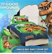 Licensed Disney The Good Dinosaur Single Bed Quilt Doona Duvet Cover Set