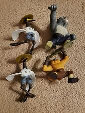 Kung Fu Panda Tai Lung Monkey Crane Figures 4pc Lot Mcdonalds