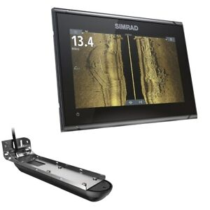 Simrad GO9 XSE w/Active Imaging 3-in-1 Transom Mount Transducer 000-14840-001