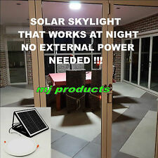 SOLAR SKYLIGHT FOR DAY AND NIGHT USE 15W (ROUND) 300 MM 3.2 AH LITHIUM BATTERY