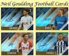 Topps PREMIER GOLD 2017-2018 ☆ AUTOGRAPH ☆ Football Cards