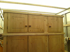 AYLESBURY PINE DIRECT TRIPLE TOP BOX TO FIT ANY OF OUR WARDROBES SOLID PINE
