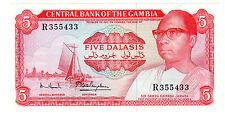 Gambie GAMBIA Billet 5 Dalasis ND ( 1972 - 1986 ) P5 KAIRABA JAWARA NEUF UNC