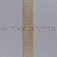 Shiny Beige/Nude Lingerie Strap Sewing Elastic 20mm Wide Garter Belt Supplies