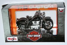 Maisto - Harley Davidson 1952 K Model (Black) 1:18
