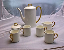 Susie Cooper for Wedgwood Coffee, Chocolate or Tea Set for 4