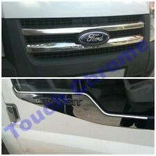 Ford Transit MK7 2006-2013 Chrome Front Grill&Windows Frame Trim S.STEEL