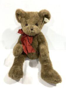 NEW Bearington Collection Bear PAPA HUGS Large App 65cm - Jointed Neck & Arms