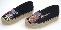 TWINS-SET WOMAN ESPADRILLES SHOES WITH WEDGE CASUAL FREE TIME CODE CTS5M3
