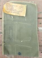 NOS Original WWII WW2 US Military M13 Spare Parts Roll Tool Pouch 1945 Dated