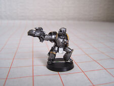 Warhammer 40k Chaos Space Marine Plague Marine Champion with Plasma Pistol (OOP)