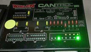 Whelen CANTROL WC Light & Accessory Controller, Tested OK