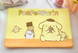 Pom Pom Purin yellow zip Floor Mat Carpets Bedroom Rug mas rugs action new