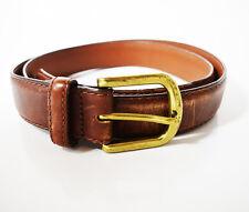 LL Bean original classique homme ceinture en cuir marron