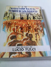 """DVD """"NUEVA YORK BAJO EL TERROR DE LOS ZOMBIES"""" LUCI FULCI ZOMBIE 2 VELLAVISION"""