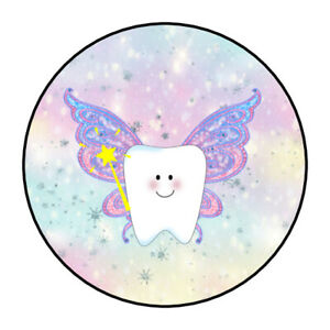 tooth fairy stickers, labels, tags, envelope seals