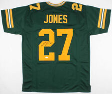 Josh Jones Signed Packers Color Rush Jersey (JSA COA) Green Bay Safety edcff048e
