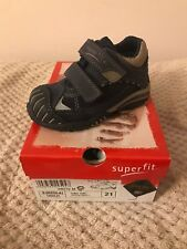Brand New Baby Boys Superfit Designer Trainers Kids Size 4.5