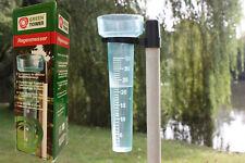 Regenmesser Niederschlagsmesser Regen Niederschlag Kunststoff mit Halter 585758