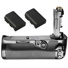 BG-E20 Vertical Battery Grip Holder For Canon EOS 5D Mark IV Camera +2pcs LP-E6