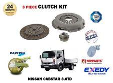 PER NISSAN CABSTAR E 3.0 TD 110/120 BD30T BD30TI 2000-2007 Kit frizione 3 pezzi