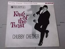 Chubby Checker:   King Of The Twist   orig 1962  EX 7""