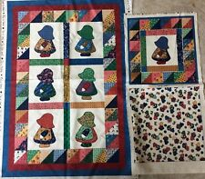 LITTLE QUILTS FOR FABRI-QUILT-----QUILT TOP KIT & PILLOW- NO BACKING