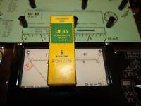 Röhre Siemens UF 85 Tube NOS Valve auf Funke W19 geprüft BL-1995