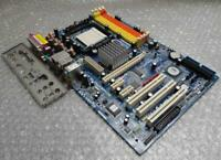 ASRock ALiveSATA2-GLAN Rev. G/A 1.01 Socket AM2 Motherboard complete with I/O BP