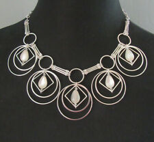 Chico's Jewelry Circles Necklace in Silver